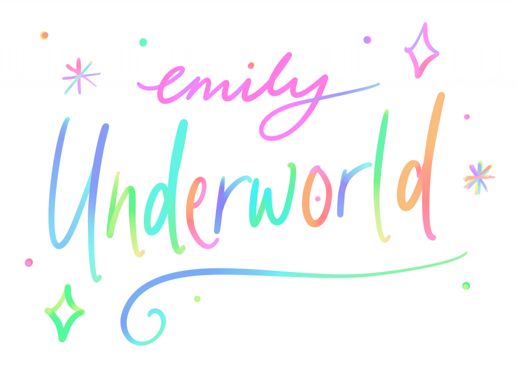 emilyunderworld-blog-logo-rainbow